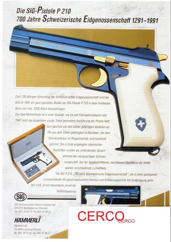 Cerco sig p 210 commemorativa dei 700 modello p 210 for Cerco sito internet