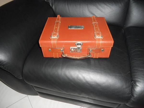 Valigetta in cuoio modello valigetta marca sirio - Valigetta porta cartucce ...
