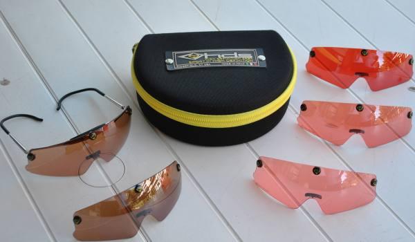 cedo kit occhiali da tiro hds pilla modello panther marca hds pilla mercatino delle armi
