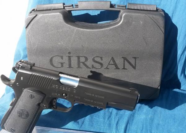 Vendo Girsan mod  Mc 1911S cal  45 acp, marca GIRSAN MC 1911