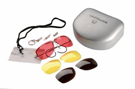 Occhiali da tiro castellani nuovo modello occhiali art for Occhiali da tiro a volo zeiss