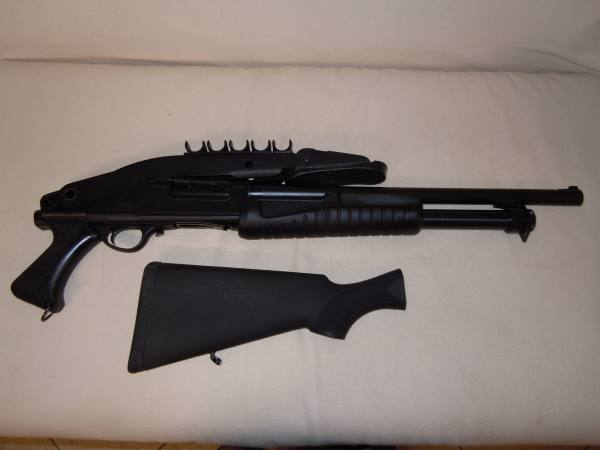 Fucile a pompa calibro 12 modello escort marca athson - Porta d armi uso sportivo ...